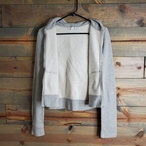 Express Tops - Express, womens zipper hoodie sweatshirt, sz L